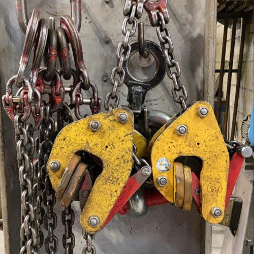 Porte charge - matériel technique de la chaudronnerie Marmonier - Isère (38)