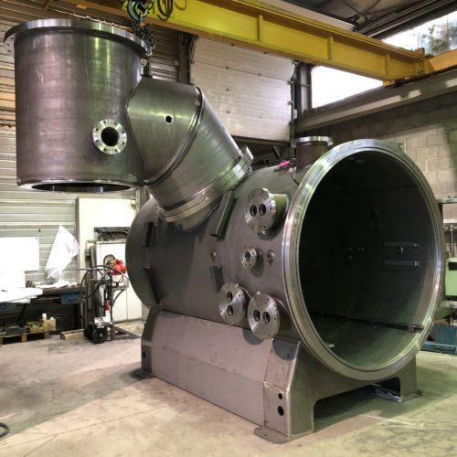 Four sous vide fabriqué par Marmonier, spécialiste de la conception, la fabrication et la maintenance de fours industriels