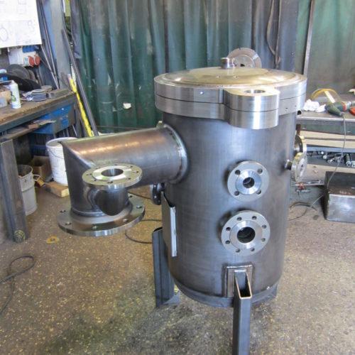 Photo d'un four sous vide en inox - fabrication chaudronnerie Marmonier à Nivolas Vermelle, Rhône-Alpes, France