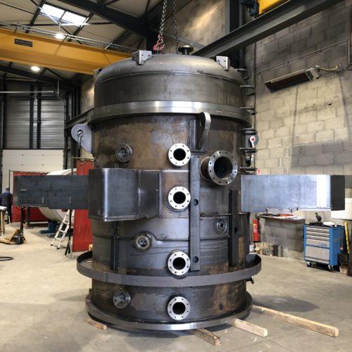 Four sous vide en acier courant et inoxydable - Fabrication sur-mesure de la Chaudronnerie Marmonier en Isère