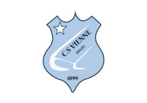 Logo en couleur du CS Vienne Rugby dont la chaudronnerie Marmonier est le partenaire