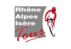 Logo en couleurs du Rhône-Alpes-Isère tour (cyclisme) dont la chaudronnerie Marmonier est le partenaire