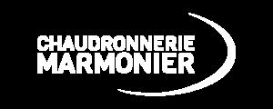 Logo chaudronnerie marmonier blanc png